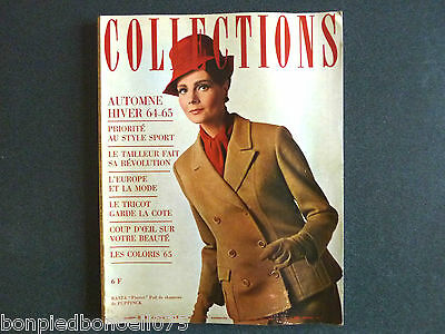 Collection Automne-Hiver 1964/1965 n°166 Femme Chic.
