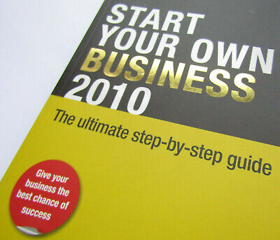 Book - Start Your Own Business 2010 - New - Paperback Business Book
