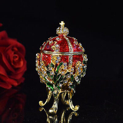 Fashion Valuable Metal religious mascot Collection Faberge egg home decoration