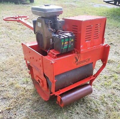 Essick Vibrating Gas Powered Vibrator Ground Pavement Roller Compactor Tamper