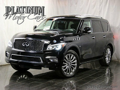 "2015 Infiniti QX80 4WD 4dr Warranty - AWD - Theater Pkg - Driver Assist Pkg - 22"" Wheels -Bose Sound w/ Nav"