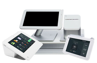 Clover POS + Mini + Mobile + CR (to buy, merchant account with us is required)