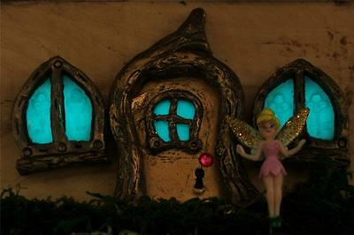 Magnetic Glow In The Dark Fairy Door Set- Fairy Garden Tooth Fairy