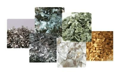 Shimmer Flakes Mica Flakes, Surface Effects for Resin Art,Interior Design,Timber