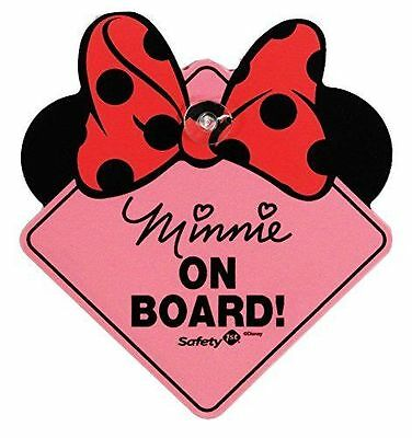 Disney Baby Minnie Mouse On Board Car Vehicle Sign