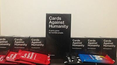 Cards Against Humanity AU Edition COMPLETE BUNDLE Inc Expansion Packs