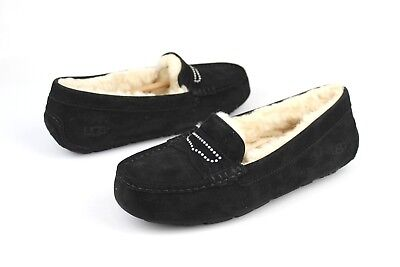5c3b4eec36b UGG VIOLETTE FULLY Lined Slipper Fresh Water Pearl Suede Size US 7 ...
