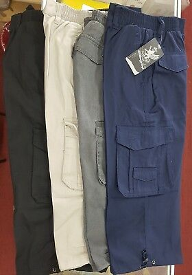 Men's Workwear Casual 3/4 Cargo Pants, Trousers, Work Pants, Pants, Shorts