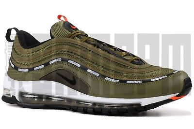 NIKE AIR MAX 97 OG UNDEFEATED 7 8 9 10 11 12 GREEN SILVER am97 olive ... ecc16d76311