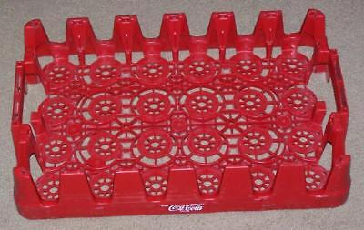 Coca Cola Plastic Crate Carrier Caddy, 24 Bottles