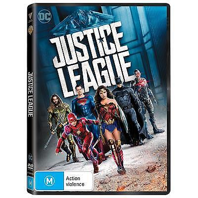 Justice League (DVD, 2018) (Region 4) New Release