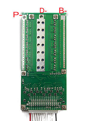 12S Cells 36V 50/100A Lifepo4 Battery Pack Protection PCB BMS Board
