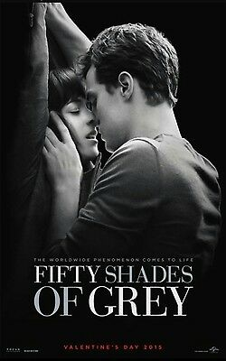 Fifty Shades of Grey 50 - original DS movie poster - D/S 27x40 Advance D