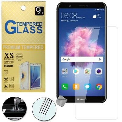 Film de protection vitre verre trempe transparent pour Huawei P Smart
