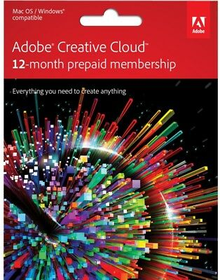 Adobe CC 2018 | Adobe Creative Cloud 2018 | All Apps + Stock For 1 Year