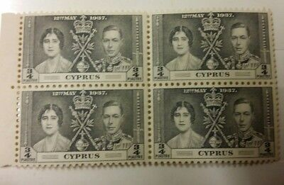 Cyprus Postage Stamps 1937 Coronation