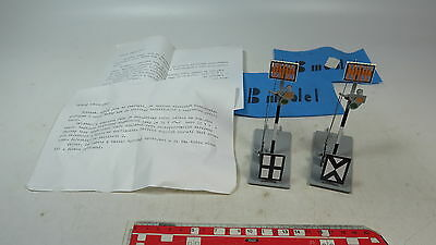 ax900-0, 5 #2X B Model (ETS) O Gauge blech-signal for Manual Operation, Tested