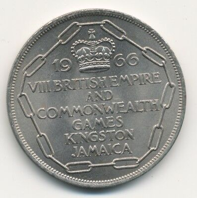 Jamaika Kingston 5 Schilling 1966 VIII Commonwealth Spiele Jamaica