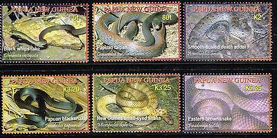 2006 Papua New Guinea Full Set of 6 Stamps  MNH