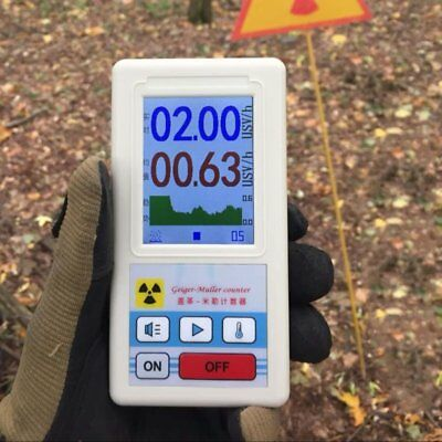 Geiger Counter Nuclear Radiation Detector Personal Dosimeter Marble Tester HK