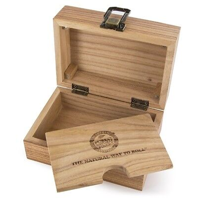 Raw Wooden Box - Raw Rolling Papers Smoking Wooden Box - Tobacco Storage Box