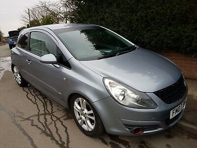 2007 Vauxhall Corsa 1.3 CDTi 16v SXi 3dr FIRST CAR CHEAP INSURANCE