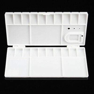 Plastic 24//25//36 Compartments Watercolor Paint Painting Tray Mixing Palette