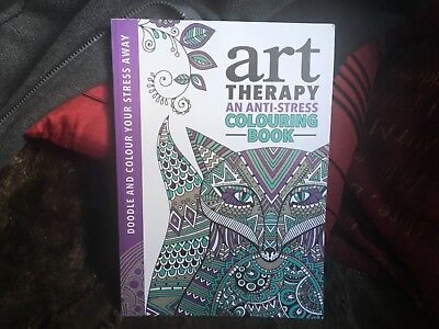 Art Therapy An Anti Stress Colouring Book Adults Creative Art