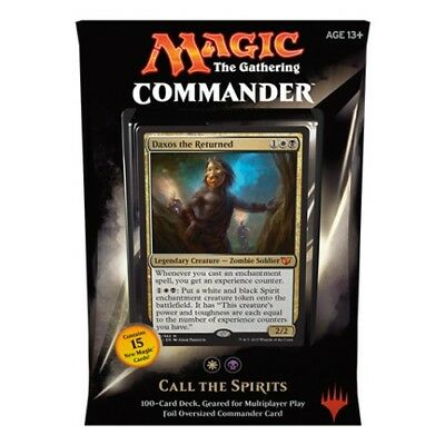 MTG C15 - Call the Spirits - complete Commander 2015 deck - new & sealed
