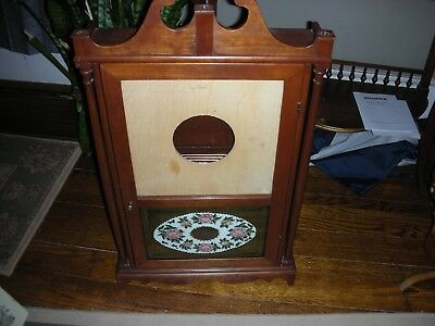Vintage Eli Terry Pillar ans Scroll Style Case **Case only** For restoration
