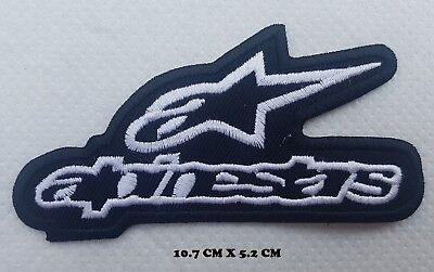 Alpinestar Motorsports Bikers Embroidered iron on sew on badge Patch N-470