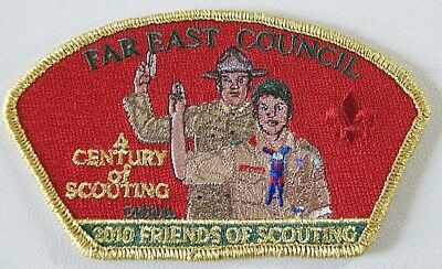 Boy Scouts, Far East Council, 2010 Friends of Scouting, A Century of Scouting