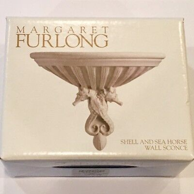 Margaret Furlong Shell and Sea Horse Wall Sconce ~ NEW IN BOX Salem Oregon