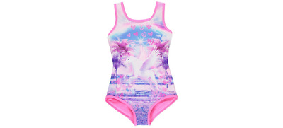 George Unicorn Swimming Costume Swimsuit Bnwt All Ages Holiday Beach