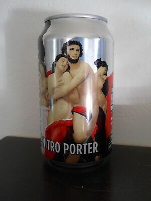 WASATCH BREWING ~ Polygamy Nitro Porter ~ BEER CAN ~ UT Utah Craft ~ Nude Girls