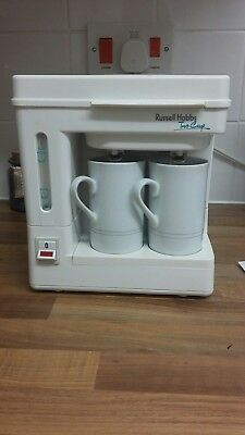 """*vintage* Russell Hobbs Two Cup Tea / Coffee Maker - """"signature"""""""