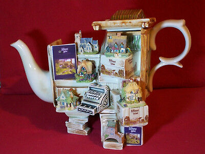 Exceptional Large Cardew Lilliput Lane Market Stall Teapot In Brill Condition