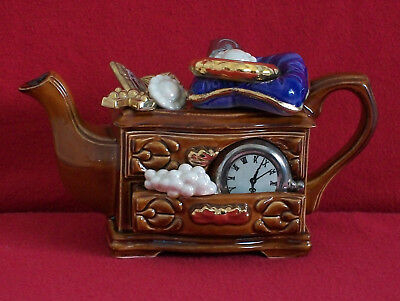**strikingly Lovely Cardew (Samuals) Jewellery Box Teapot** *in Brill Condition*