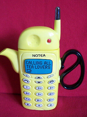 Smart Large Teapottery Mobile Phone Teapot In Brill Condition