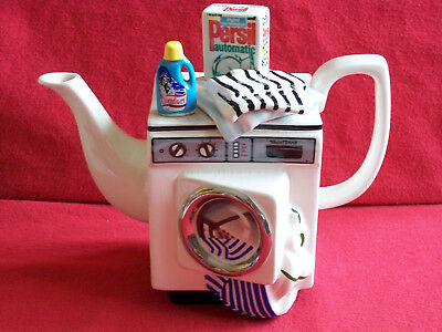 Every Ladies Dream Large S.w.c./cardew Washing Machine Teapot In Brill Condition