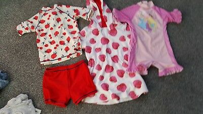 lovely bundle of girls swimwear 18-24month including Next