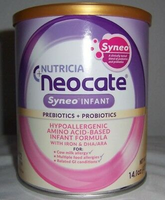 6 Cans Neocate Syneo Infant Formula  Free Shipping