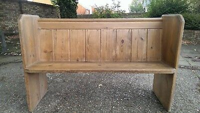 Church pew pine 4 foot 6 inches long