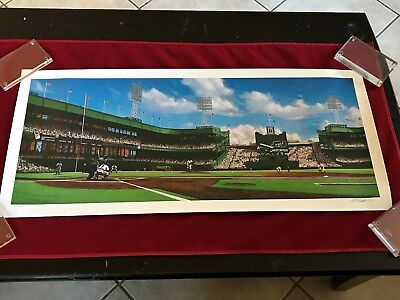 Ten/three/fifty-One (Polo Grounds) - Limited Edition Fine Art Litho /600 16X36