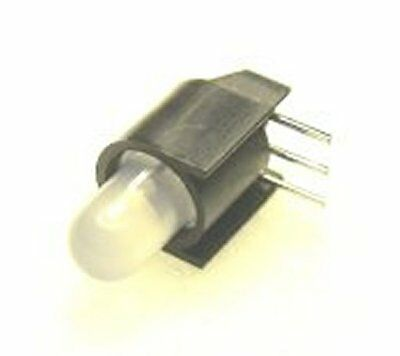 10 Bipolar 5Mm 3 Lead Leds In Housing For Ho Scale Dwarf Signals With Free Resis