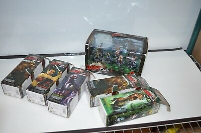 Horrorclix - Wicked Fun! 5 Booster Pack & Game Pack - 25 Figures Total