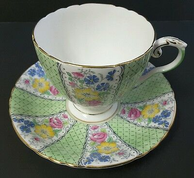 Royal Grafton Beverley Bone China Tea Cup & Saucer Gold Trim