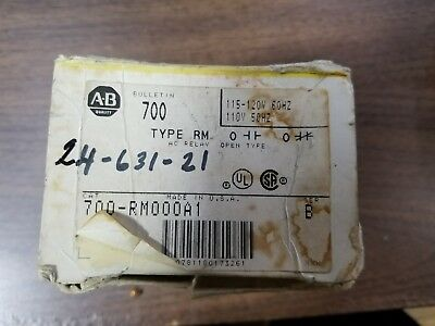 Allen Bradley 700-Rm000A1 Magnetic Latching Relay  L21