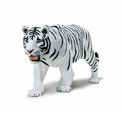 Safari Ltd 112089  White Siberian Tiger XL Animal Figure Toy