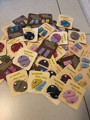 Leather Cable Clips